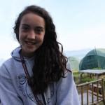 Georgianna at camp.